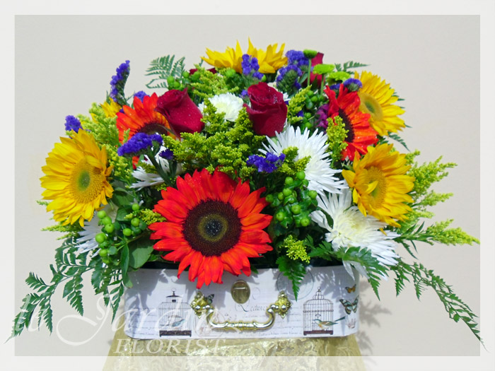 Get well soon flowers florist palm beach gardens 561 for Arrangement jardin
