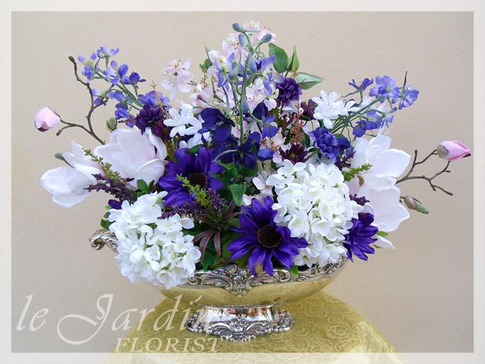 Silk Flower Arrangement By Le Jardin Florist. Silk Flower Arrangements Florist  Palm Beach Gardens 561 627 8118